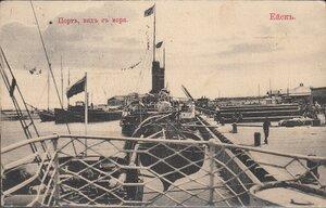 Порт, вид с моря