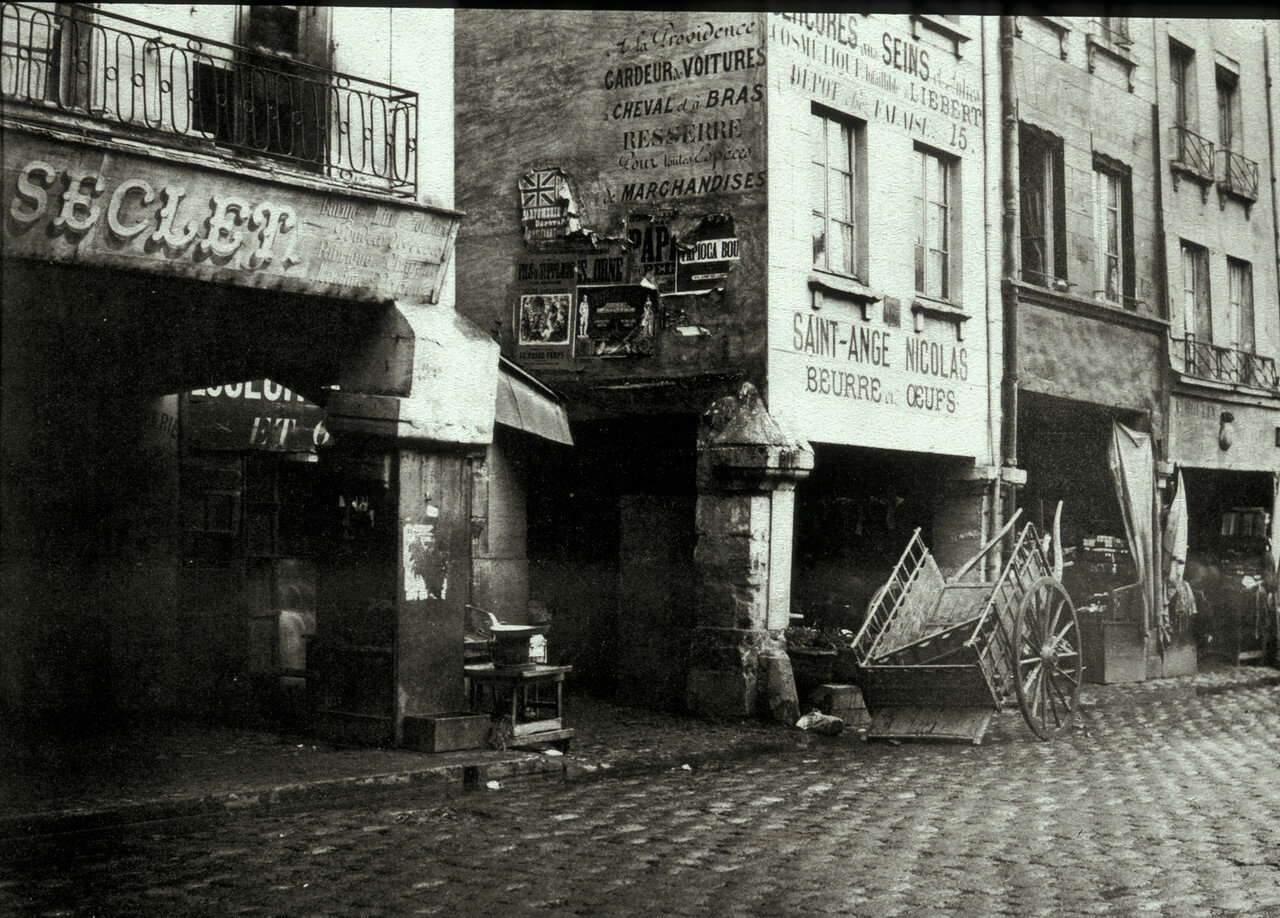 1855. Ле-Аль, улица Ла-Тоннеллери
