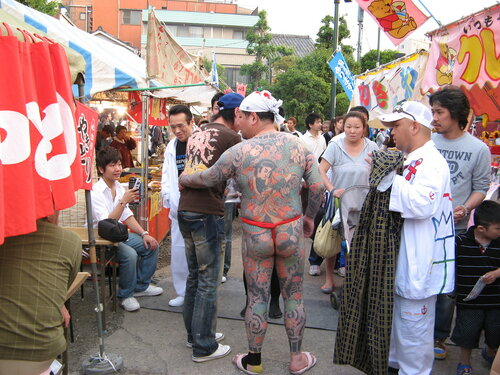 Сандзя-мацури в Асакуса