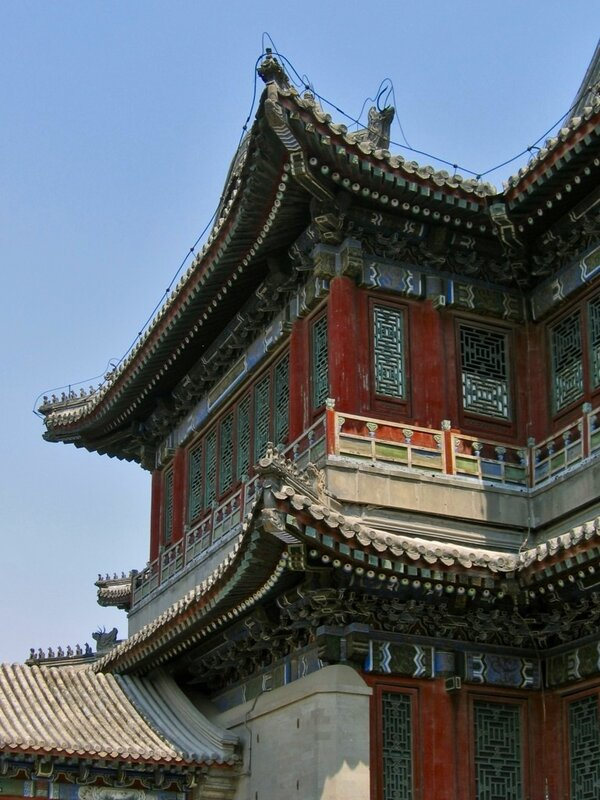 Музыкальный павильон, парк Ихэюань, Летний дворец, Пекин