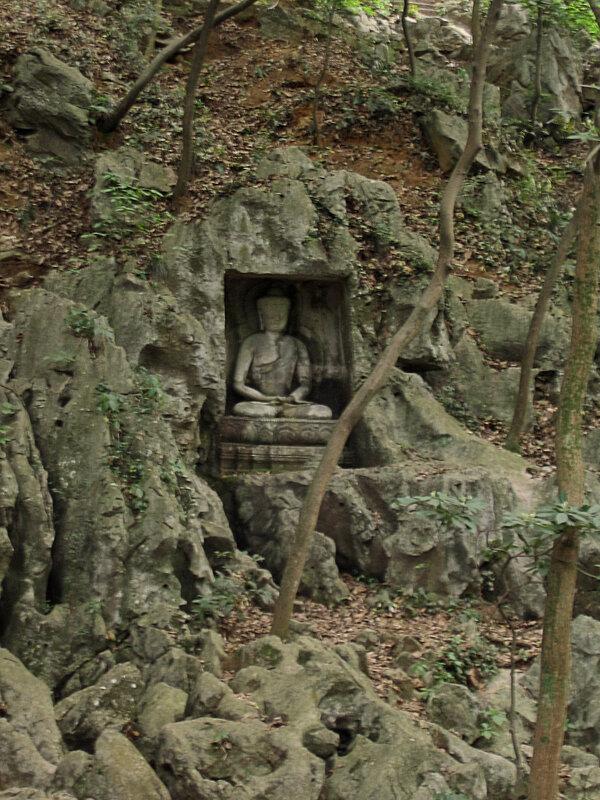 Будда, Скала Фэйлайфэн, монастырь Линъиньсы, Ханчжоу