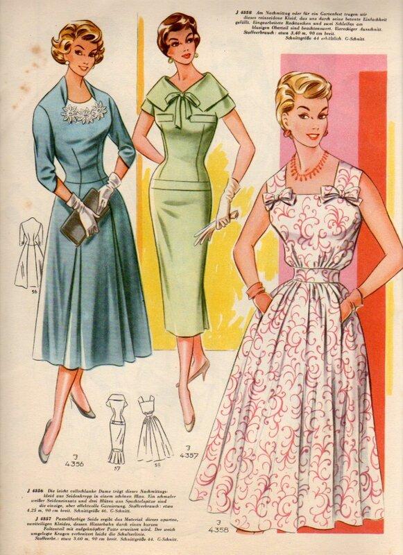 Фото платья 1960 годов мода