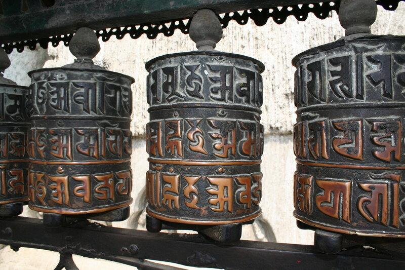 Mani wheel. Катманду