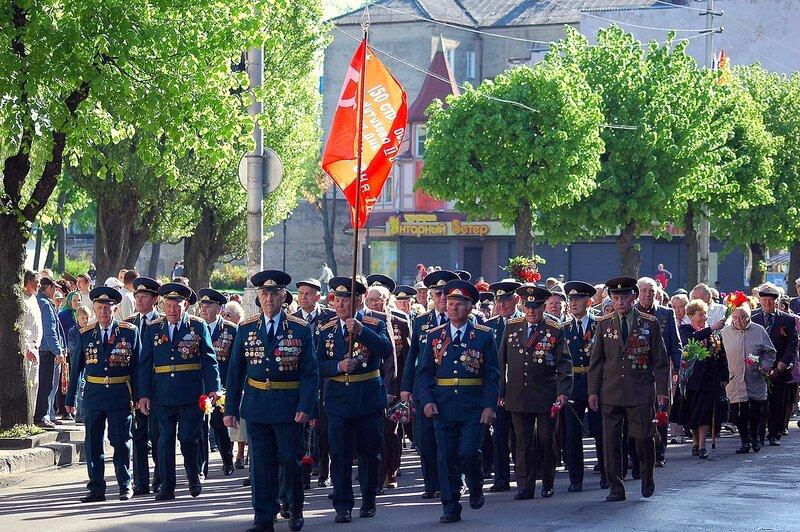 9 мая с Советске
