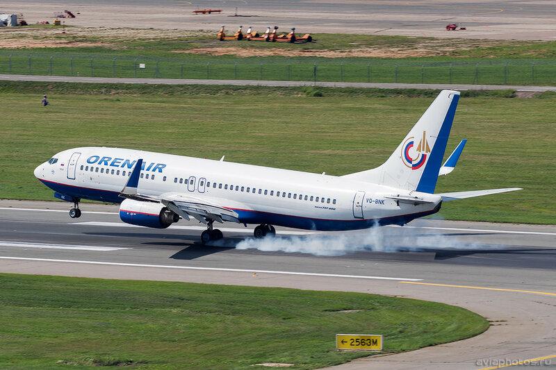 Boeing 737-8K5 (VQ-BNK) Оренэйр D805320