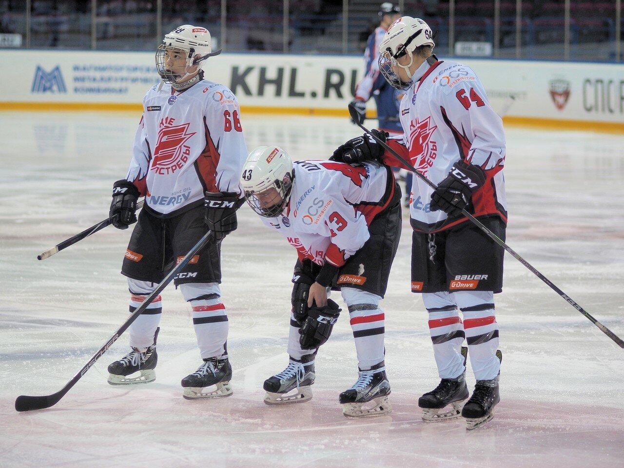 112Стальные Лисы - Омские Ястребы 13.12.2016