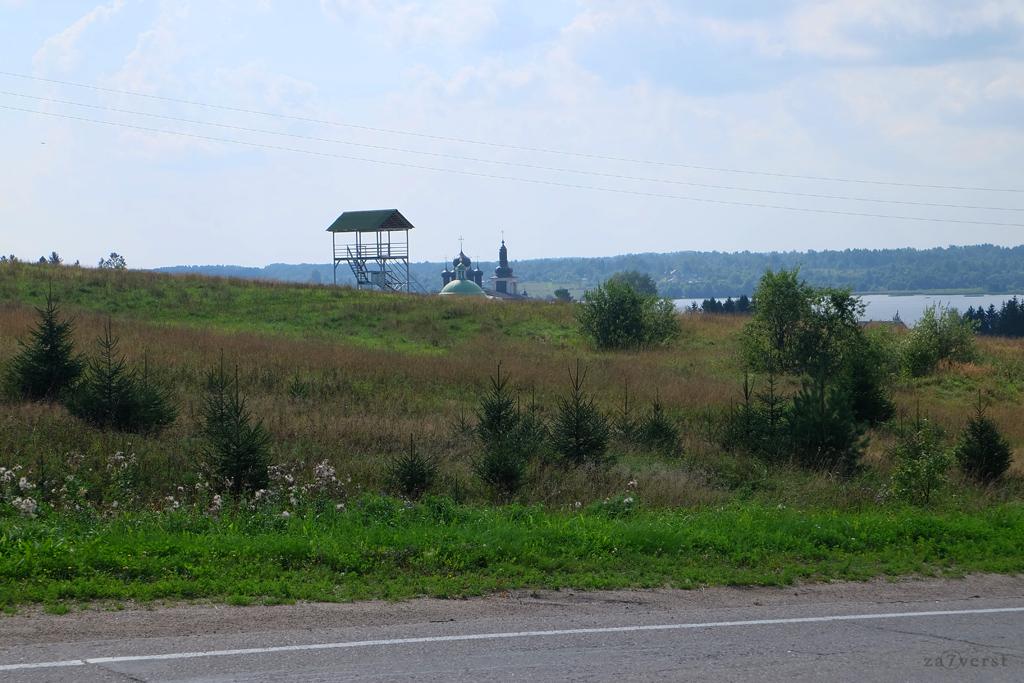 Горицкий Воскресенский монастырь в Вологодской области