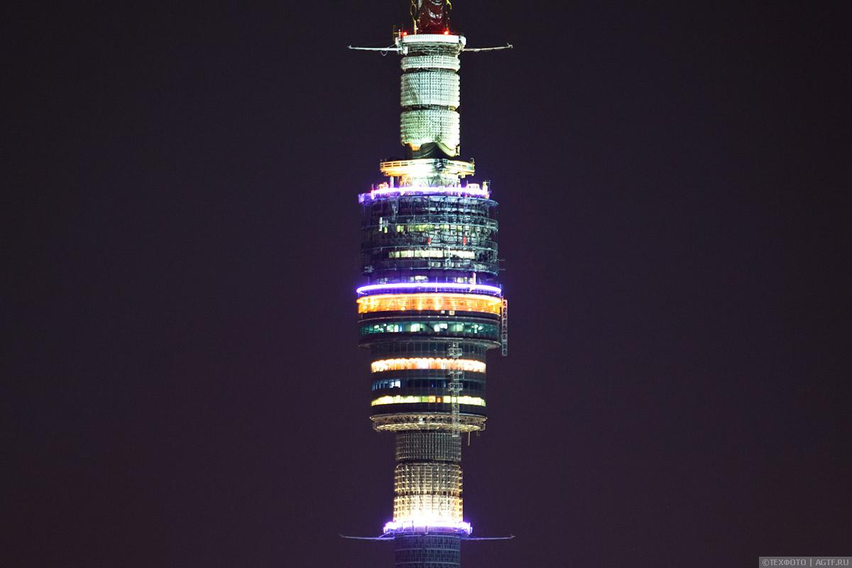 Останкинская телевизионная башня. Детали