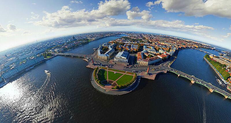 Санкт-Петербург аэросъемка