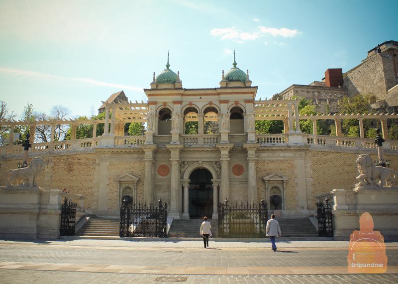Реставрационные работы в Будайском замке