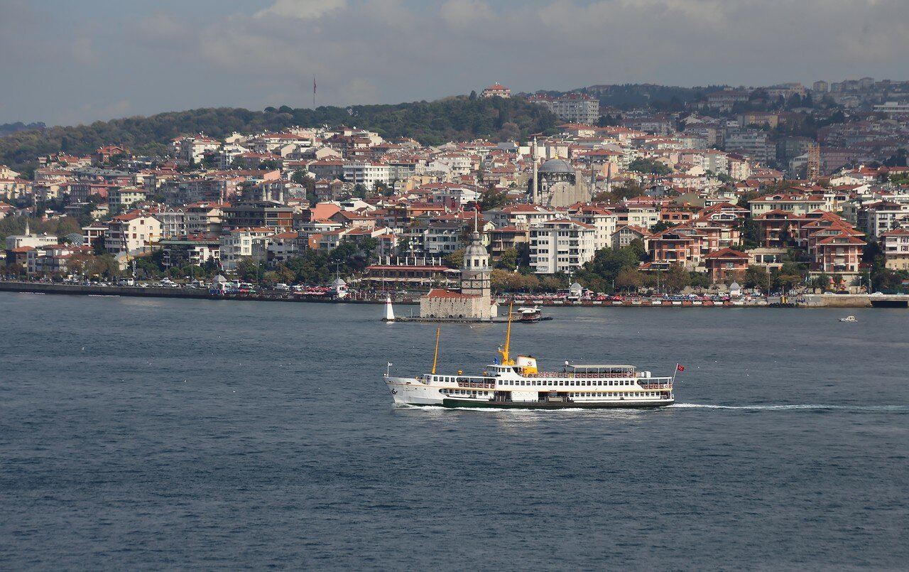Bosporus, view from Topkapi Palace