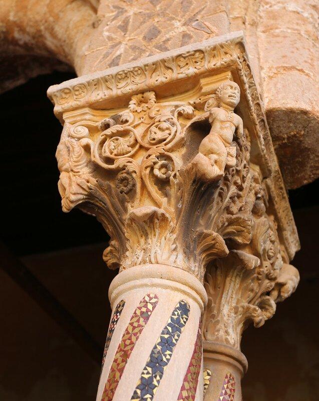 Монреале. Бенедиктинский монастырь (Chiostro dei Benedettini)