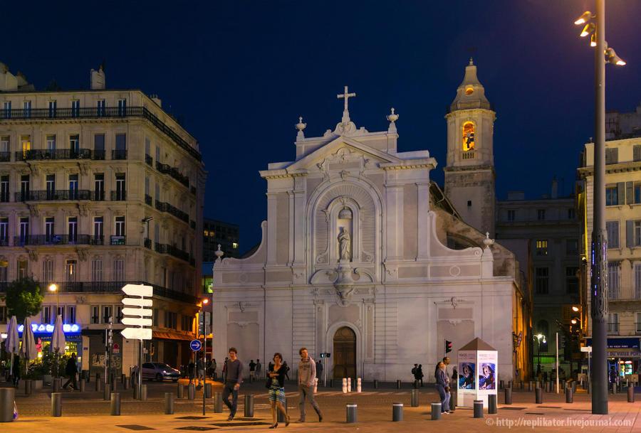 15. Церковь августинцев (Сен-Ферреоль) / L'Eglise des Augustins (Saint-Ferreol les Augustins). Фасад