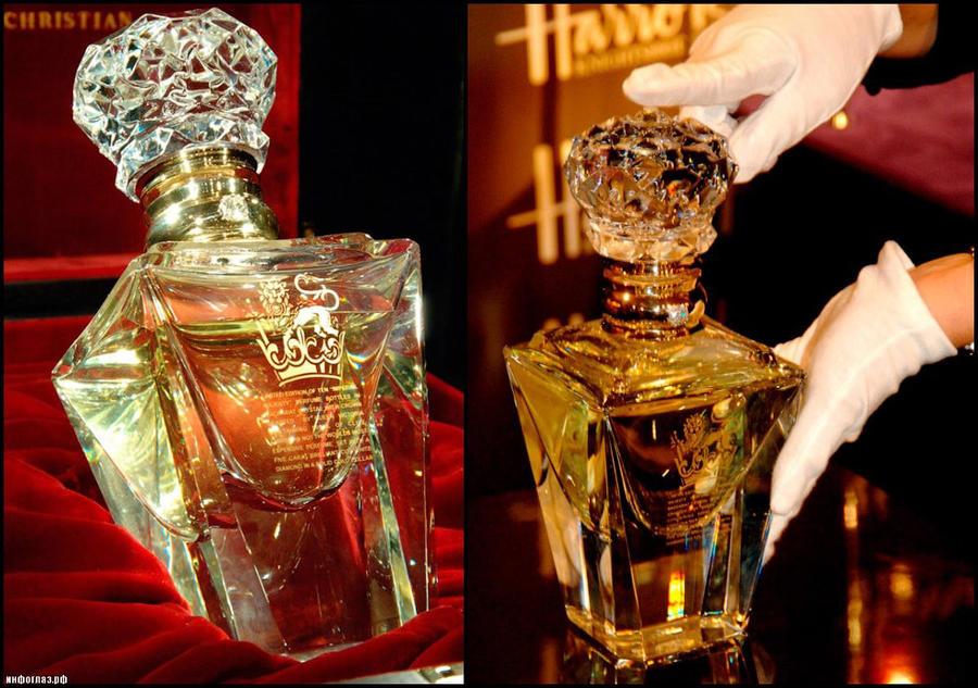 2. В 1999 году Клайв Кристиан купил парфюмерную компанию Crown Perfumery. Она существует с 1872 года