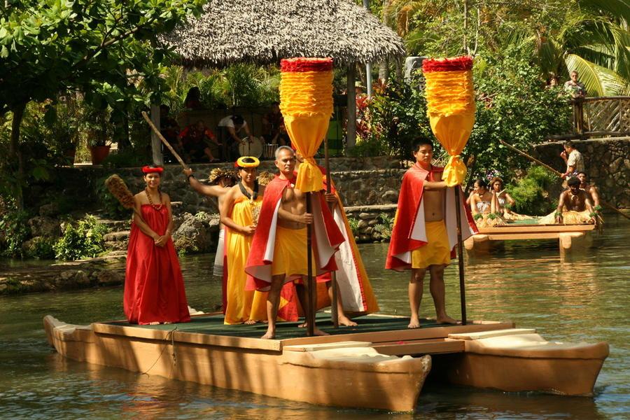7. Центр полинезийской культуры. Центр полинезийской культуры — это тематический парк, или, как неко