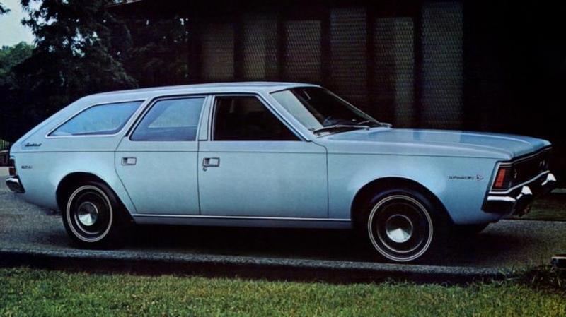 AMC Hornet 1971 За основу серийного автомобиля использовали уже не компактный Hornet, а среднеразмер