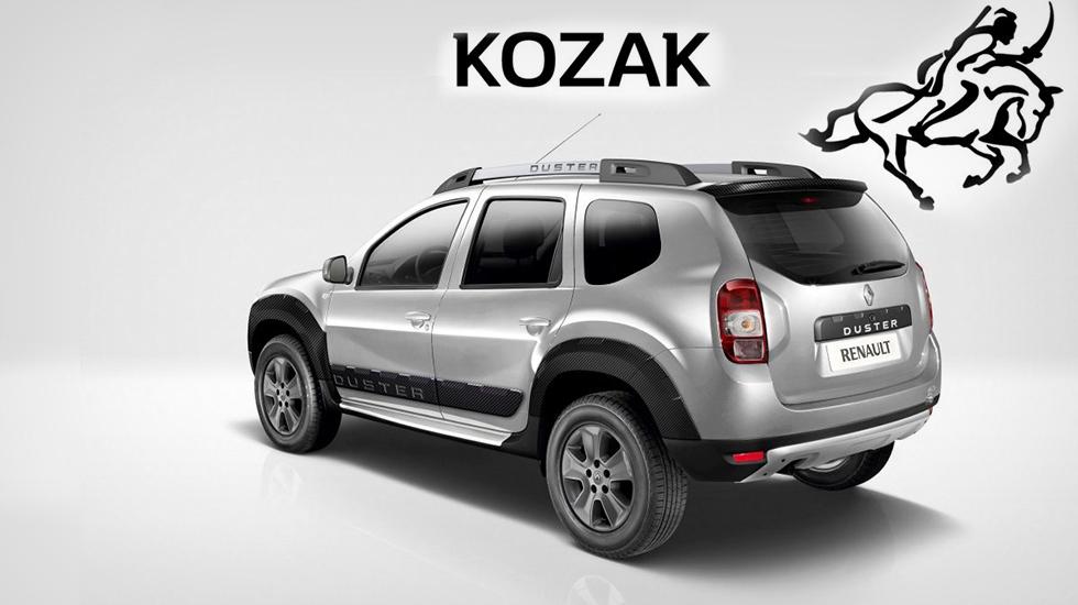 Рено Duster получил спецверсию Kozak для государства Украины