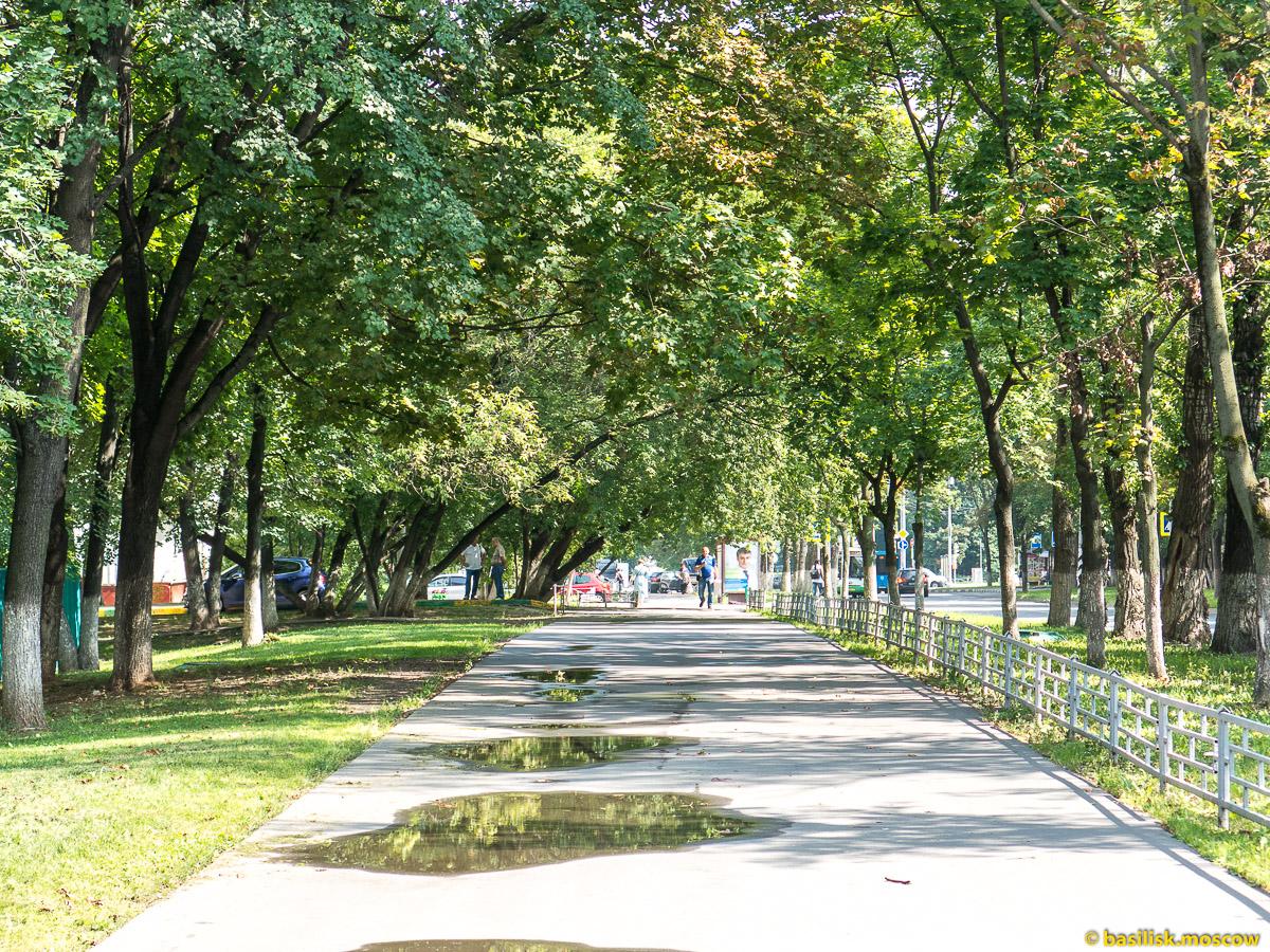 Улица Шверника. Торговый центр Черёмушки. Москва. Июль 2016