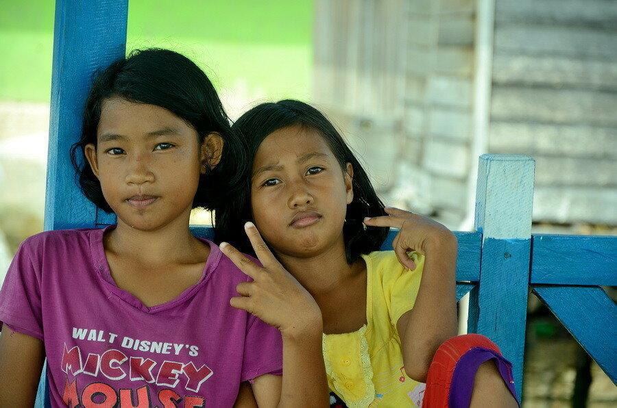 Девочки-индонезийки