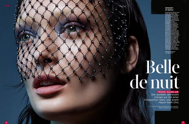 Beauty of the Night Ft Egle Jezepcikaite by Frauke Fischer for Gala