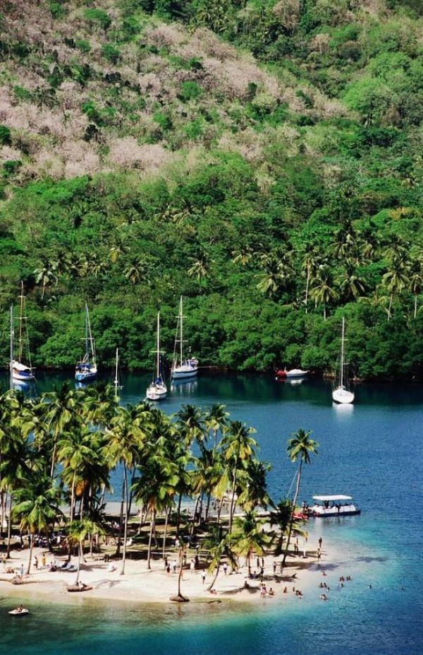 Saint Lucia is not only a tranquil place where you are your loved one can leave your troubles be