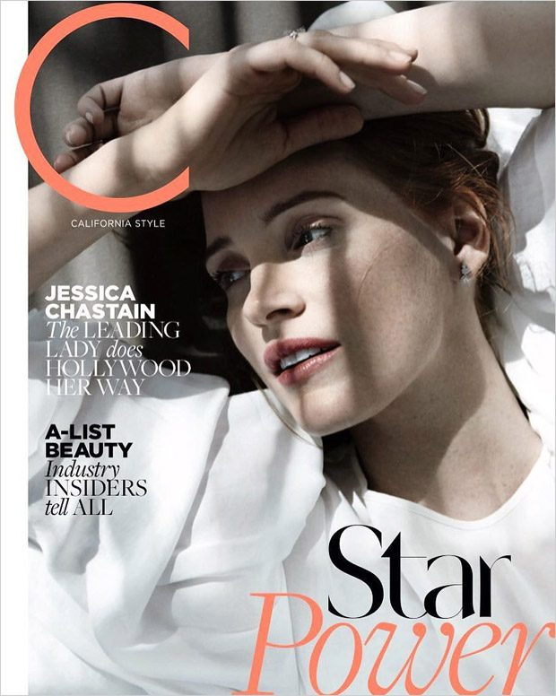 Jessica Chastain Stars in C Magazine November 2016 Cover Story