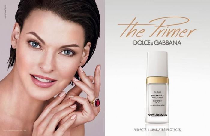 Linda Evangelista for Dolce & Gabbana The Primer
