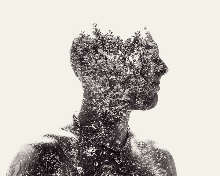 Impressive Natural Patterns Portraits