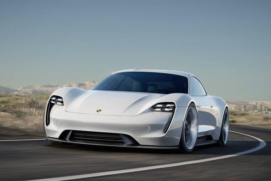 Porsche Mission E Concept (8 pics)