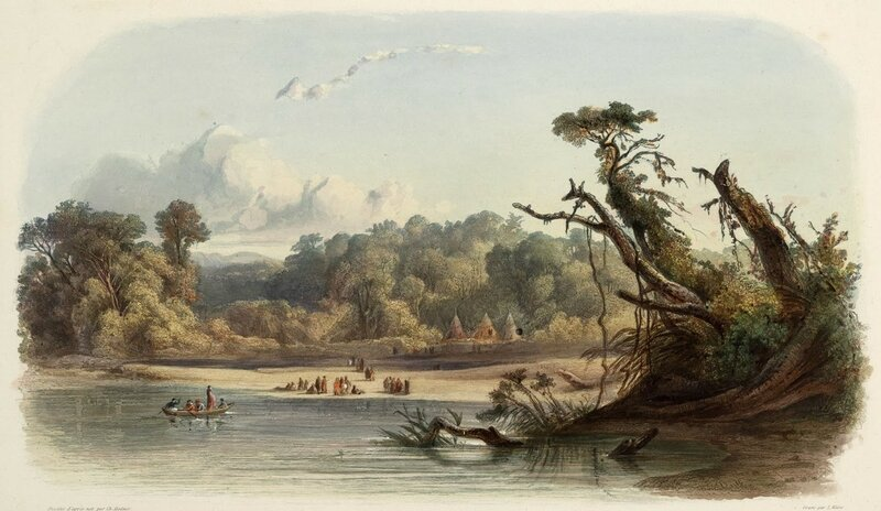 5 bodmer  Punca_or_Ponca_indians_encamped_on_the_banks_of_the_Missouri_0011v.jpg