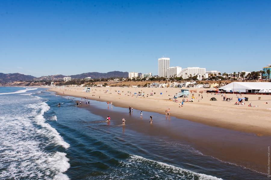 Los Angeles: Santa Monica Pier и Venice beach
