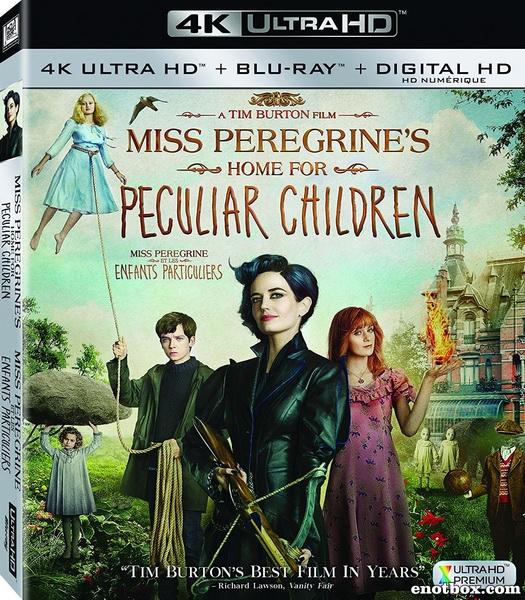 Дом странных детей Мисс Перегрин / Miss Peregrine's Home for Peculiar Children (2016/BDRip/HDRip)