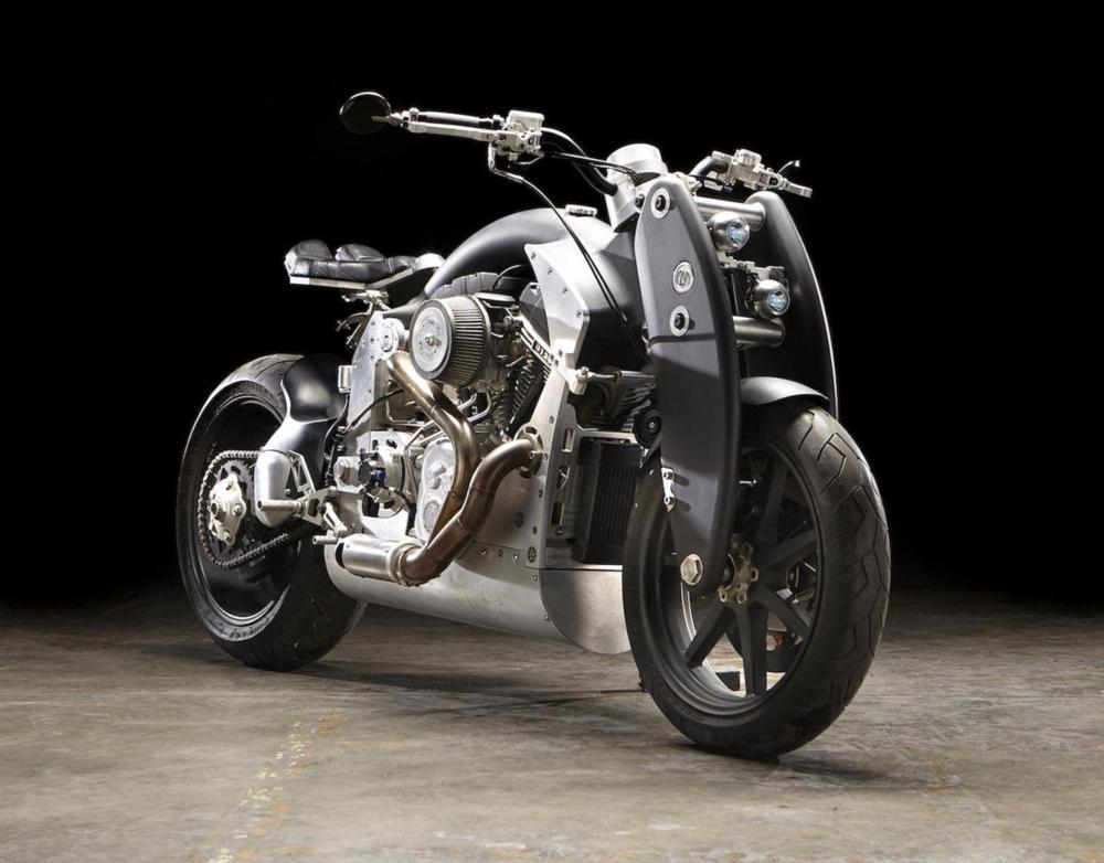 Редкий мотоцикл Confederate Wraith B210 будет продан с аукциона в Лас-Вегасе