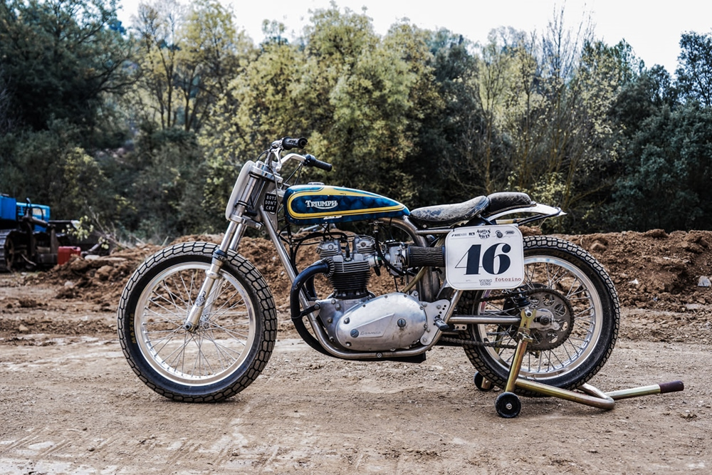 Young Guns Speed: флэт-трекер Triumph Trackmaster 1971
