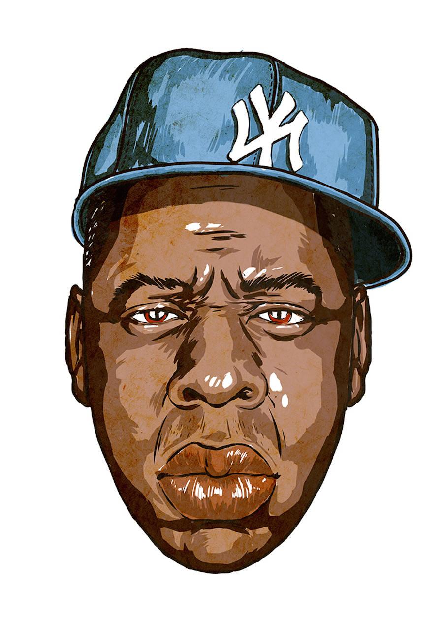 Stunning Portraits of Hip Hop Artists