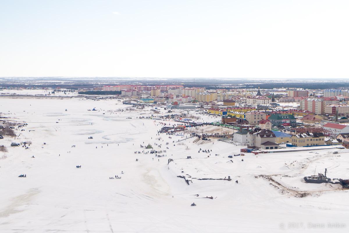 Нарьян-Мар с вертолёта фото 8