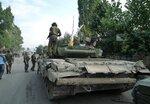 Российские войска в Цхинвале, 10.08.2008