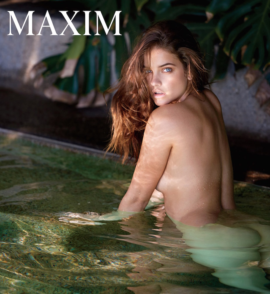 обнаженная Барбара Палвин / Barbara Palvin nude by Gilles Bensimon - Maxim december 2016