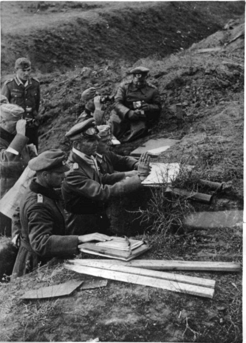 1942. Генерал Паулюс в Сталинграде