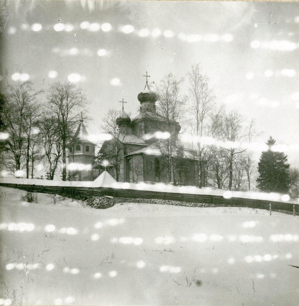 Окрестности Луги. Осьмино. Церковь Георгия Победоносца