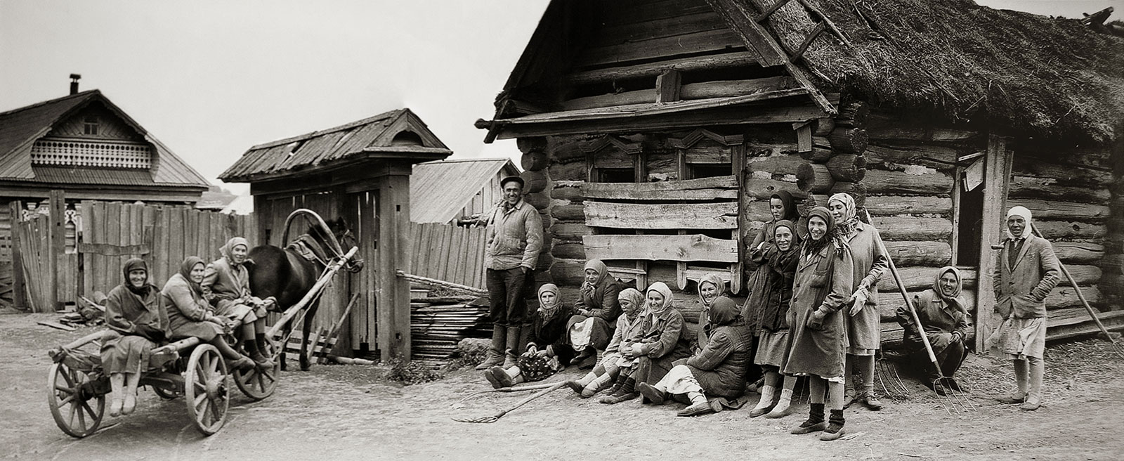 1967. В деревне Шадки