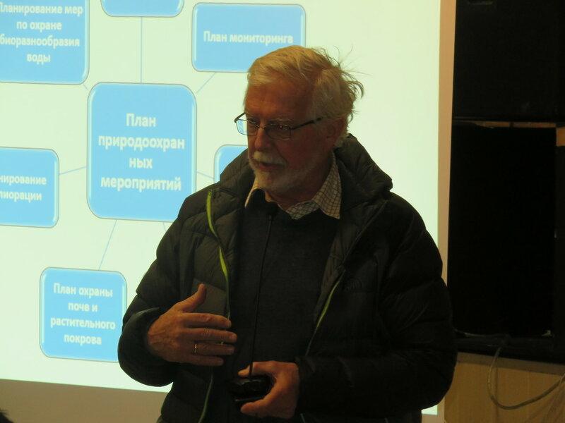 Эксперт Всемирного банка Эрик Хелланд-Хансен на слуаниях в Бурятии (фото: Александр Колотов)