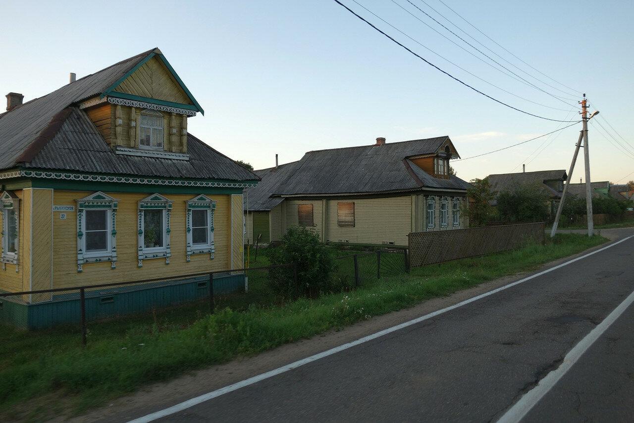 деревня, Рыбинский уезд