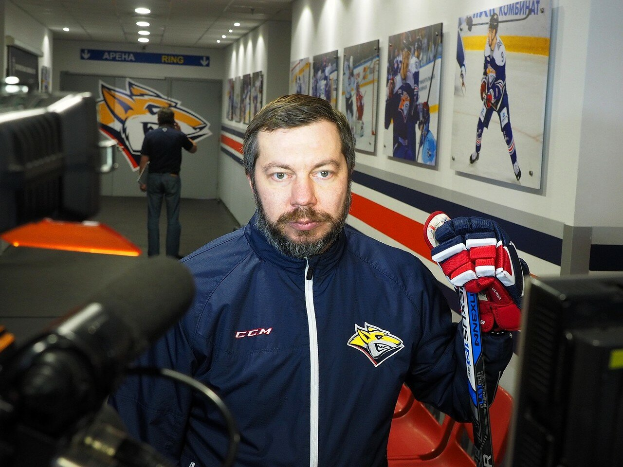 34 Открытая тренировка перед финалом плей-офф КХЛ 2017 06.04.2017