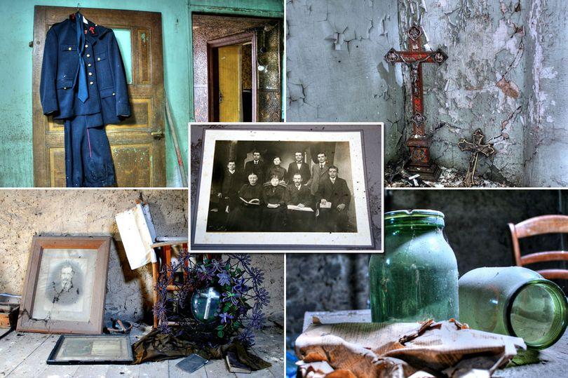 Тревожные снимки из дома, брошенного после нацистской оккупации