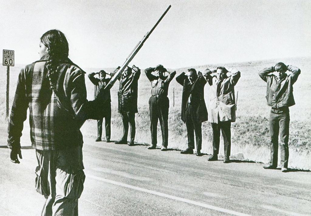 Последнее восстание индейцев в 1973 году.