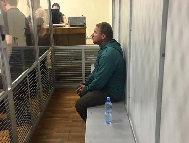 Суд арестовал на 2 месяца жителя Закарпатской области, который из автомата ранил полицейского