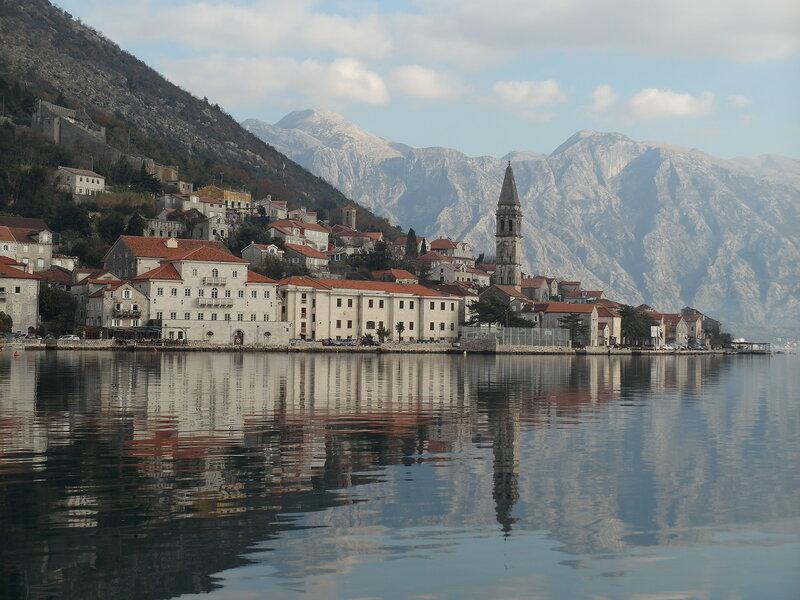 Черногория в декабре, город Пераст