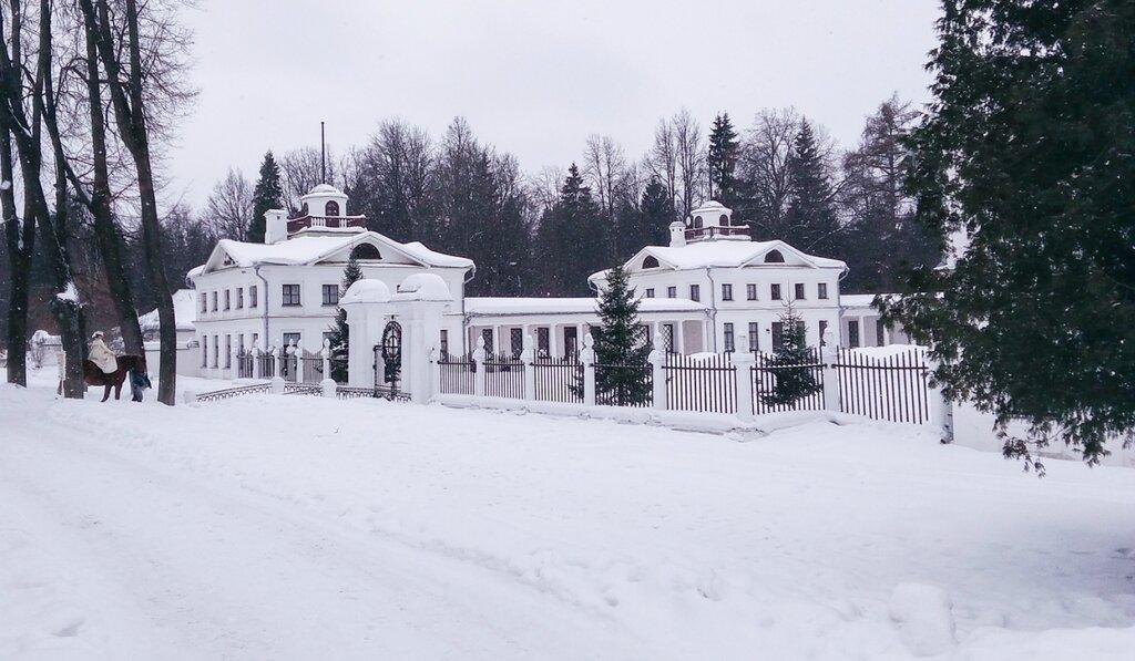 Усадьба Середниково зимой