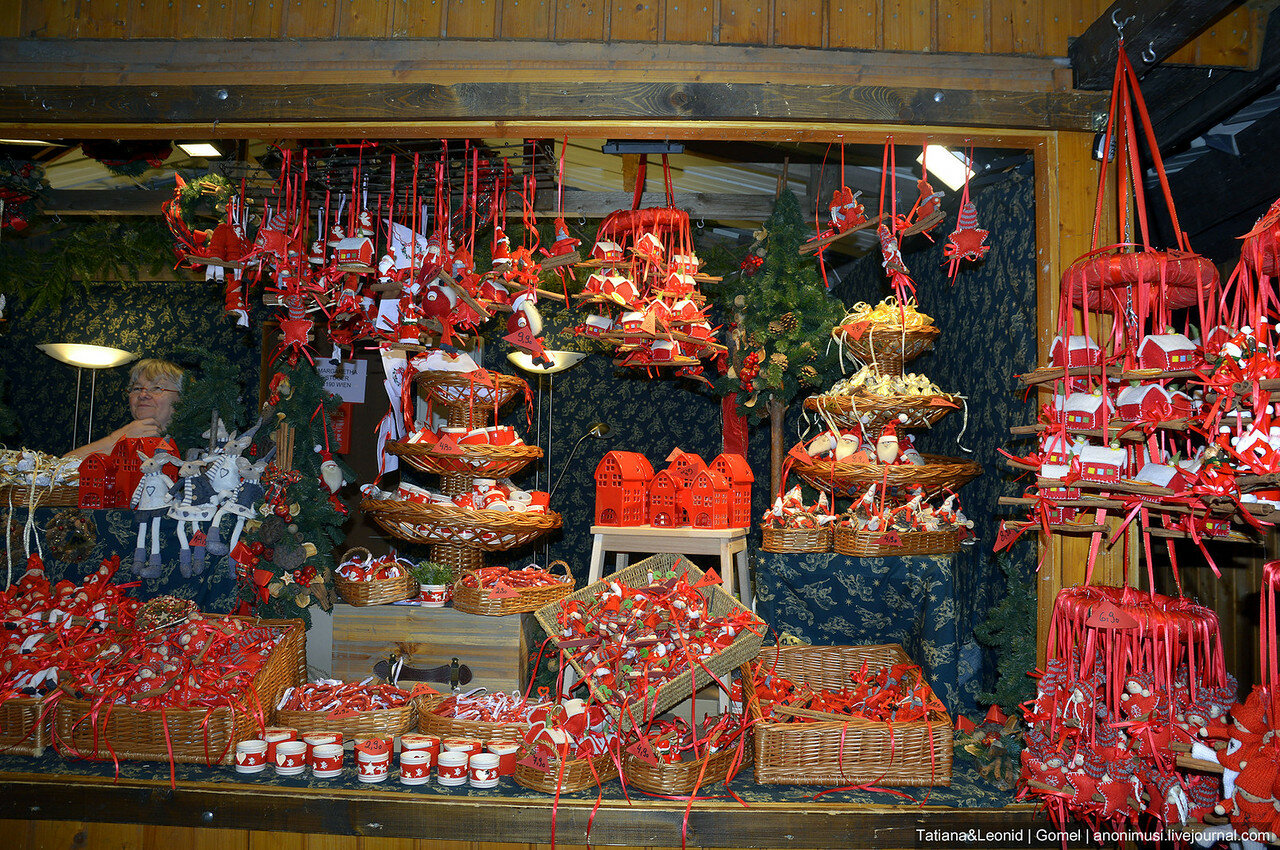 Рождественские ярмарки Вены